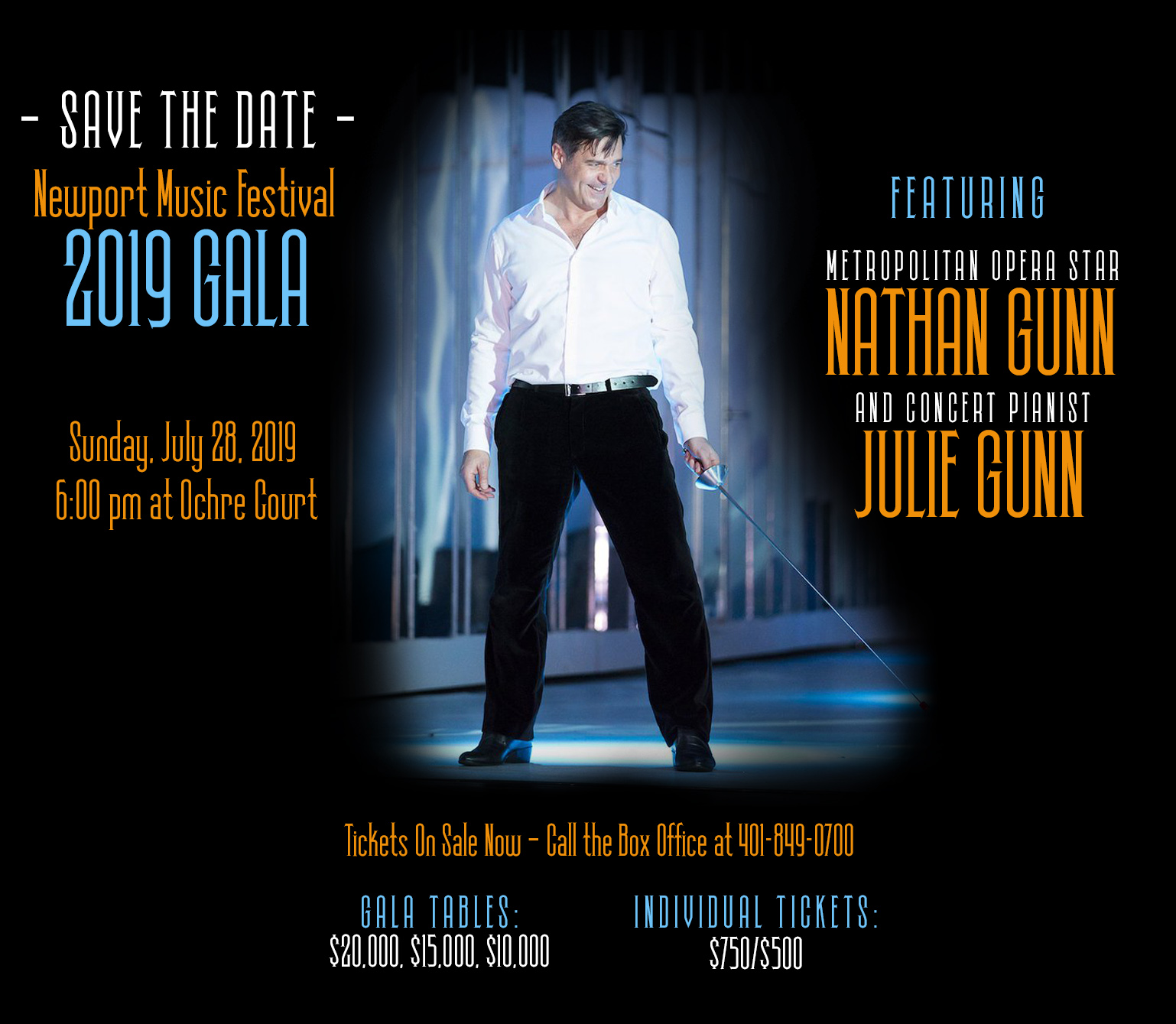 06-23-19 The Newport Music Festival 2019 Gala featuring
