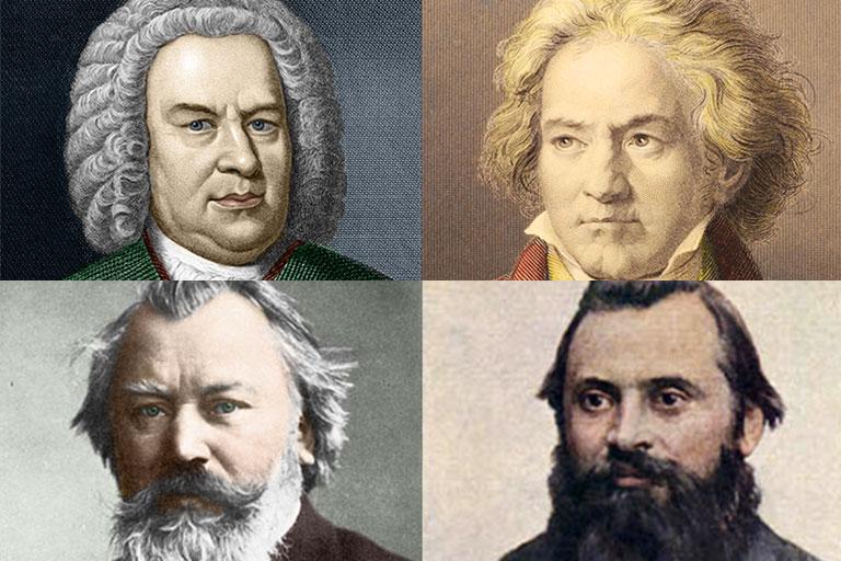 Image result for Bach, Beethoven, Brahms & Balakirev